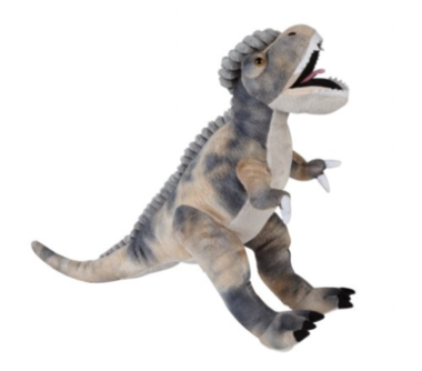 Velociraptor knuffel (54x15cm)