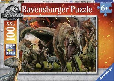 100 stukjes Jurassic World puzzel