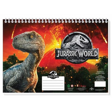 Jurassic World Schetsboek
