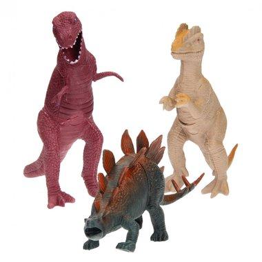Dinosaurussen (kunststof) (20-26 cm)