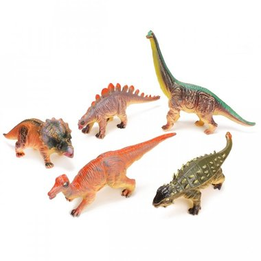 Dinosaurussen (soft/zacht) 26-38 cm