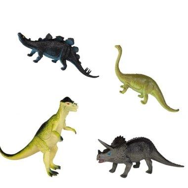 Dinosaurussen (kunststof) (30 cm)