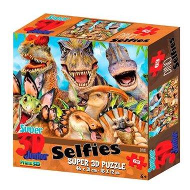 3D Dinosaurus Puzzel Selfies