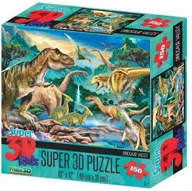 3D Dinosaurus Puzzel Valley