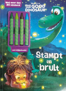 Kleurboek: The Good Dinosaur + krijtjes