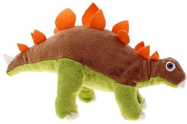 Stegosaurus knuffel beweegbaar (lengte 48 cm)
