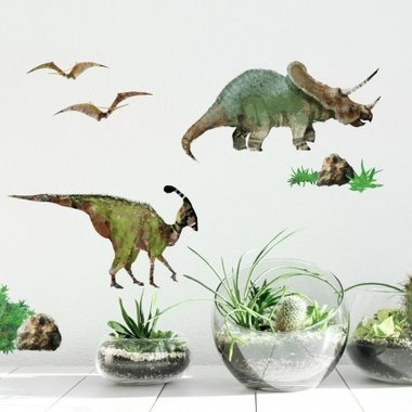 Dinosaurus Muurstickers (Roommates)