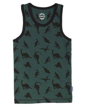 Dinosaurus hemd (groen) Claesen's maat 92-98