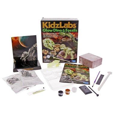 Kidzlabs Glow Dino & Fossils