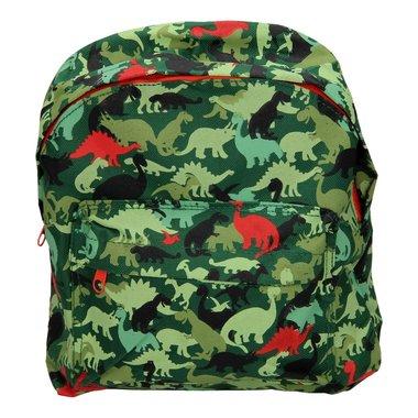 Peuter/Kleuterrugzak Dinosaurus Camouflage