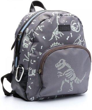 Dino rugtas (grijs) (zebra trends)