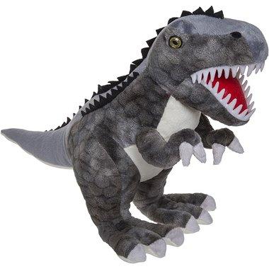 T-rex knuffel grijs (L48cm)