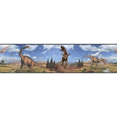 Dinosaurus behangrand  (Roommates)