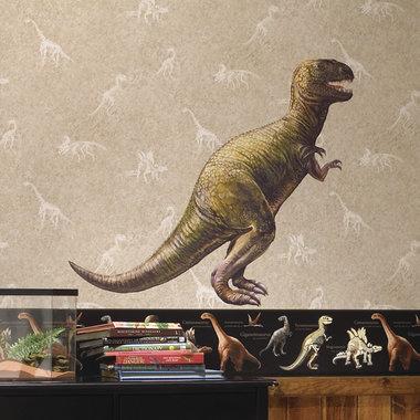 Dinosaurus T-REX Muursticker GROOT (Roommates)