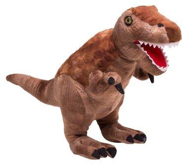 T-rex knuffel bruin (L48cm)