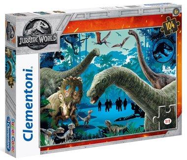 104 stukjes Jurassic World puzzel serie 1