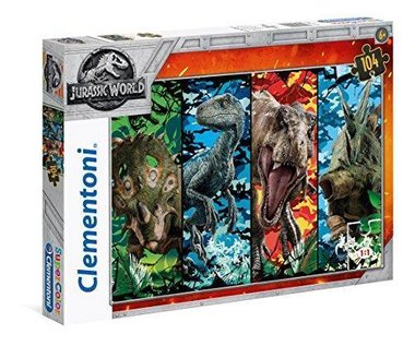 104 stukjes Jurassic World puzzel serie 2