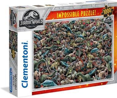 1000 stukjes Jurassic World puzzel
