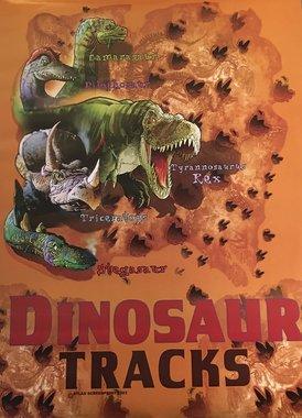 Dinosaurus tracks poster (45 x 60 cm)