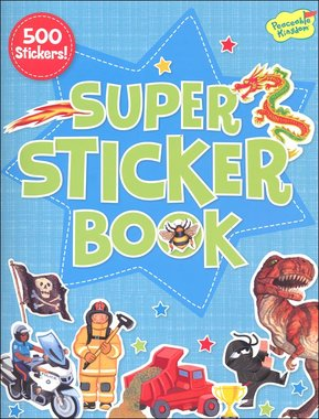 Super stickerboek (500 stickers)