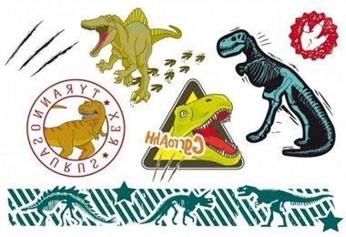 Dinosaurus Tattoo  (7 stuks)