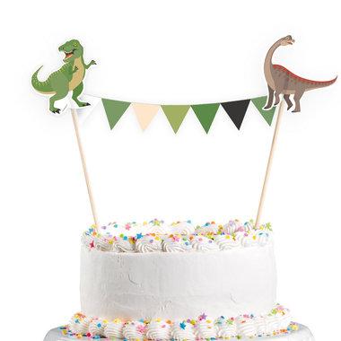 Dinosaurus decoratie (taart/cake)