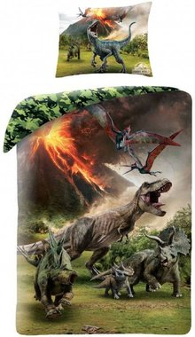 Jurassic World Vulkaan Dekbedovertrek (140x200cm)