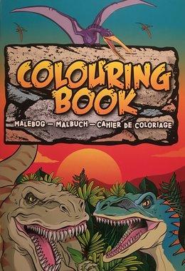 Dinosaurus kleurboek (fijn) KADO TIP!