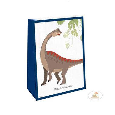 Zakjes (4x) (papier) (Happy Dinosaur)