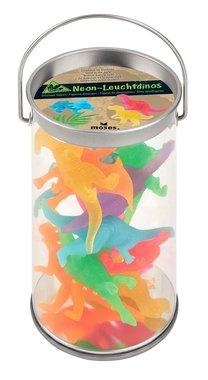 (10x) Dinosaurussen neon (taart/muffin decoratie)