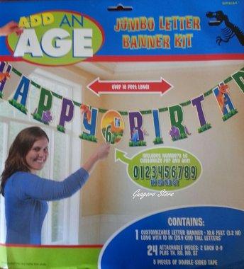 GIGA Happy Birthday slinger (3,2 meter)