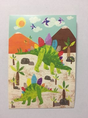 Ansichtkaart Dinosaurus