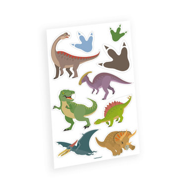Dinosaurus Tattoo Happy Dinosaur (9 stuks)