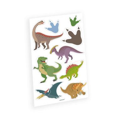 Dinosaurus Tattoo Happy Dinosaur (9 stuks)