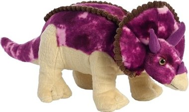 Triceratops knuffel (lengte 43 cm)
