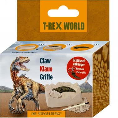 Dig it out: Velociraptor klauw (met sleutelhanger)