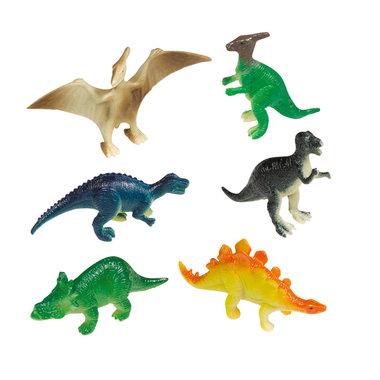 (8x) Dinosaurussen (klein) (taart/muffin decoratie)