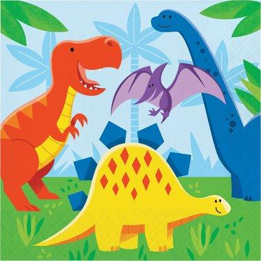 Servetten Dinosaurus (16x) (Dinosaur Friends)