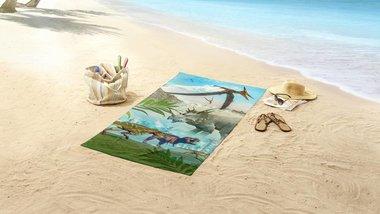 Dinosaurus badlaken - handdoek