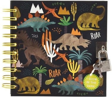 Dinosaurus dagboek met slotje