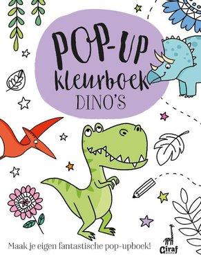 Kleur & Pop-up boek Dino's