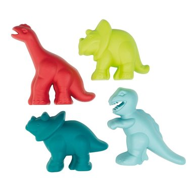 Dinosaurus vormen (klein) (4x)