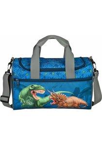 Dinosaurus tas - blauw