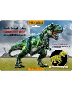 Glow in the dark T-rex