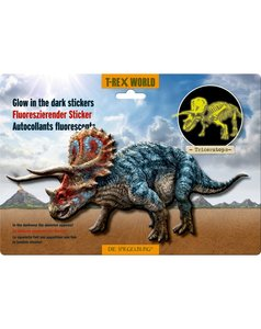 Glow in the dark Triceratops