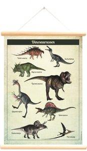 Schoolplaat dinosaurussen