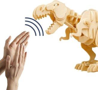 Bijtende T-rex maken