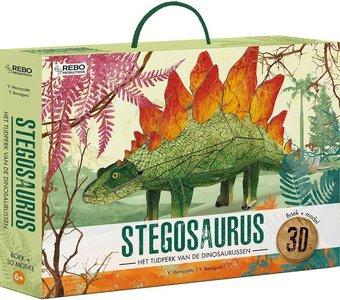 Stegosaurus 3D model met informatieboekje
