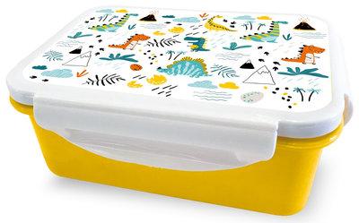 Lunchbakje geel