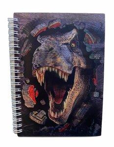 3 D T-rex boekje